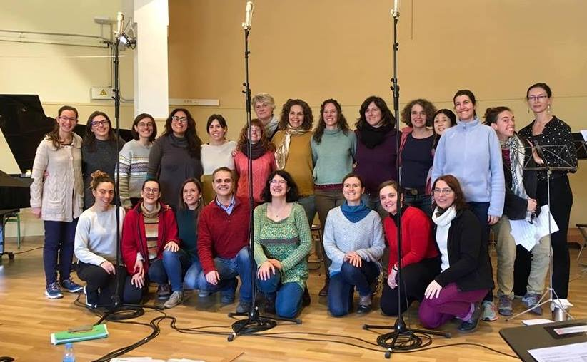 We've Done It! Our CD Of Lullabies From Around The World Has Been Recorded!